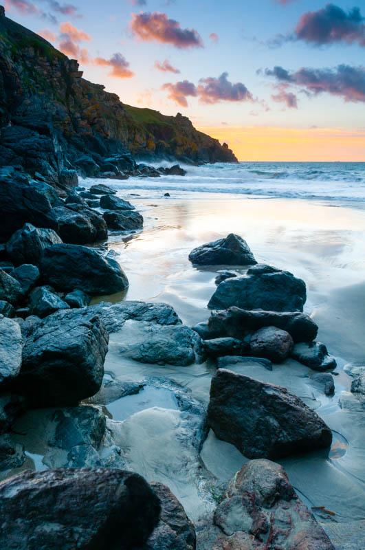 Housel Beach sunrise 2242