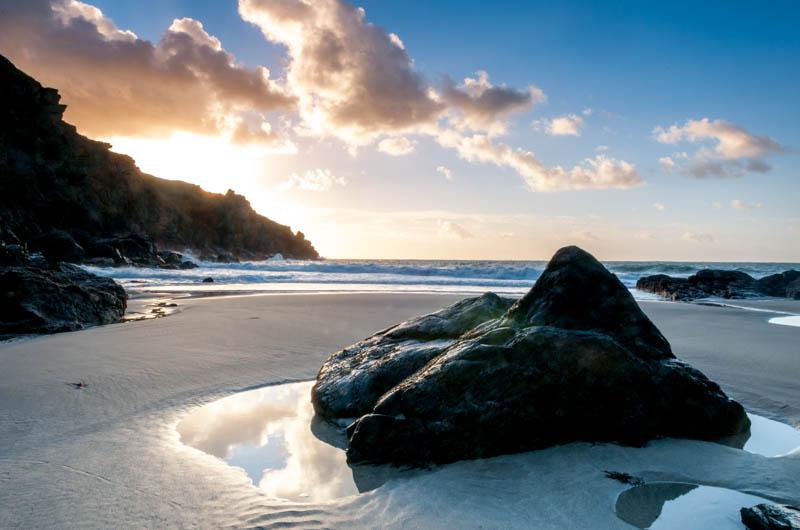 Housel Bay Beach, sunrise 2248