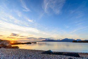 Isle of Skye, sunset at Tokavaig 2851