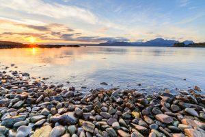 Isle of Skye, sunset at Tokavaig 2853