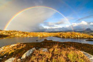 The Assynt, rainbow 2903