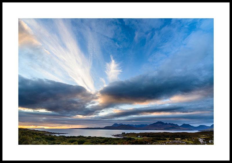 Isle of Skye, sunset at Tokavaig 2907