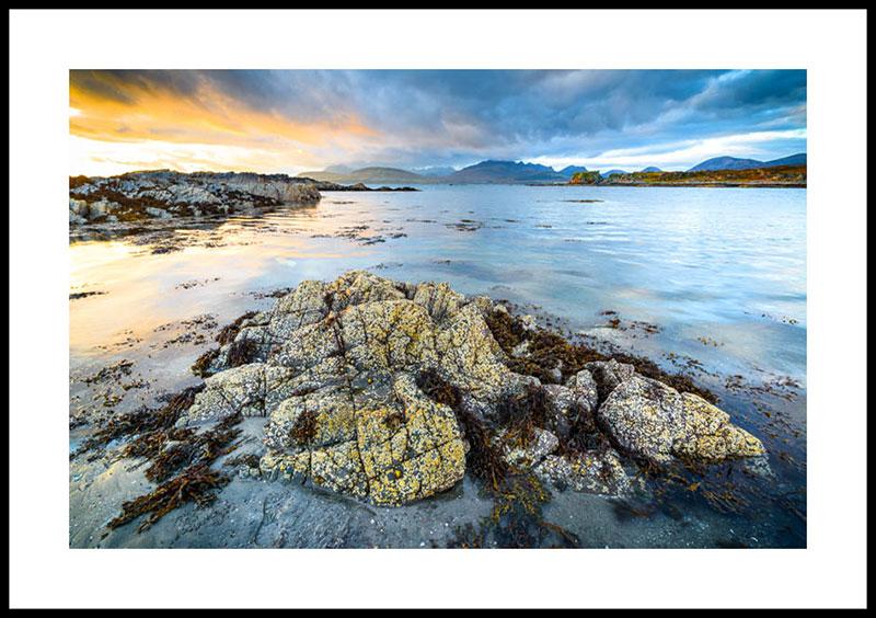 Isle of Skye, sunset at Tokavaig 2913