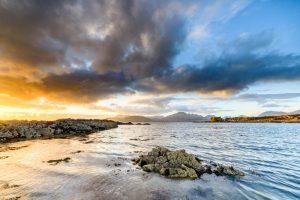 Isle of Skye, sunset at Tokavaig 2915