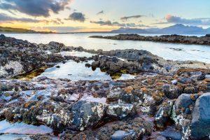 Isle of Skye, sunset at Tokavaig 2916