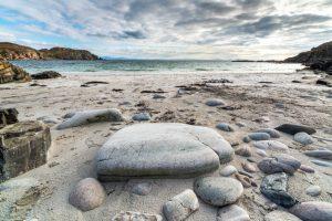 Isle of Skye, Beach near Point of Sleat 2926