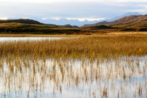 Isle of Skye, view of The Cuillins from Loch Ghabhsgabhaig 2927