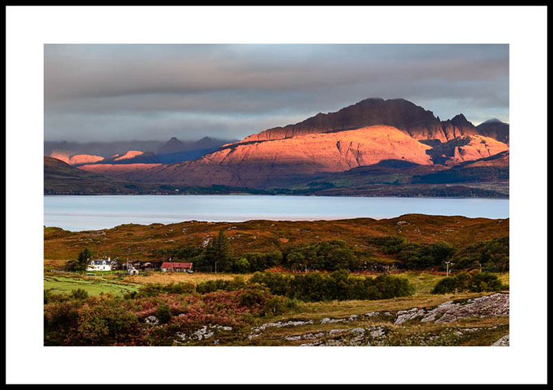 Isle of Skye, sunrise at Tokavaig 2995a