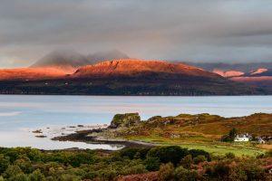 Isle of Skye, sunrise at Tokavaig 2995b