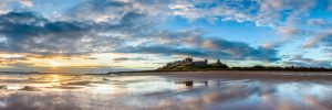 Bamburgh Castle, sunrise 3126