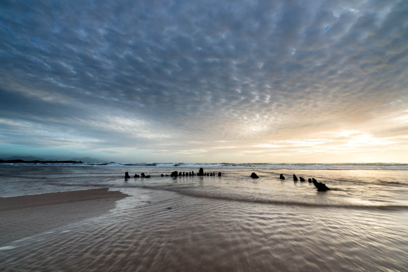 Anglesey, Newborough, the wreck of the brig Athena, 3370