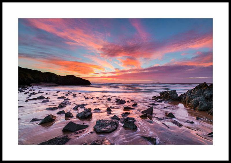 Anglesey, Llanddwyn Island sunset 3371