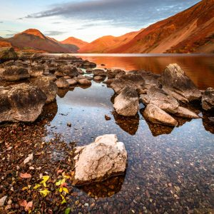 Wastwaster and Great Gable 3554