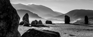 Castlerigg Stone Circle and Helvellyn 4192PAN