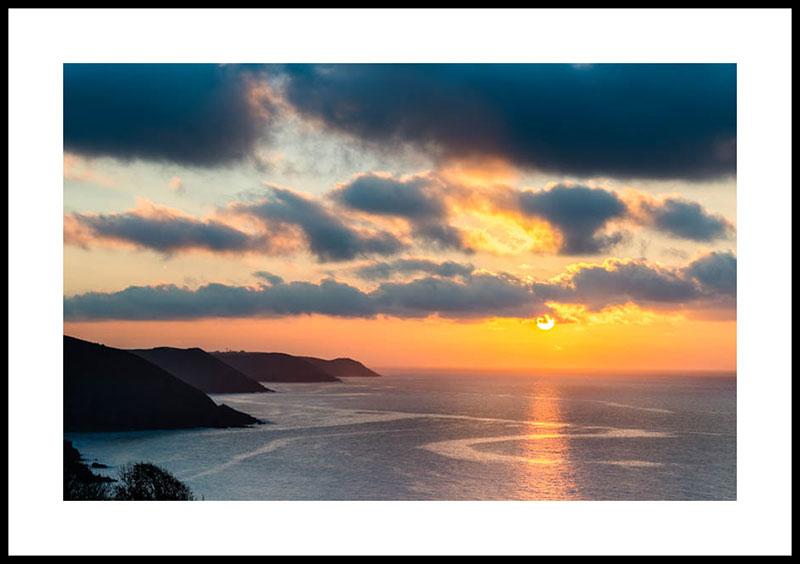 Pembrokeshire coastline sunrise 4267