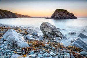 Pembrokeshire, Stackpole, sunset 4298