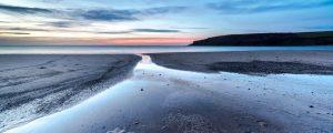 Pembrokeshire, Freshwater East Beach, sunrise 4303
