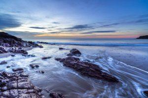 Pembrokeshire, Freshwater East Beach, sunrise 4324