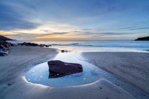 Pembrokeshire, Freshwater East Beach, sunrise 4325