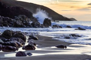 Pembrokeshire, Freshwater East Beach, sunrise 4330