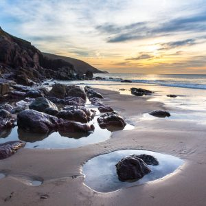 Pembrokeshire, Freshwater East Beach, sunrise 4331