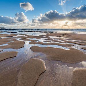 Pembrokeshire, Freshwater West Beach, sunset 4427