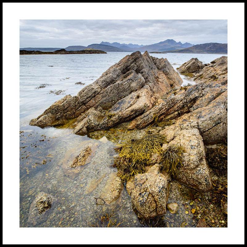 Isle of Skye, beach at Ord 5006SQ