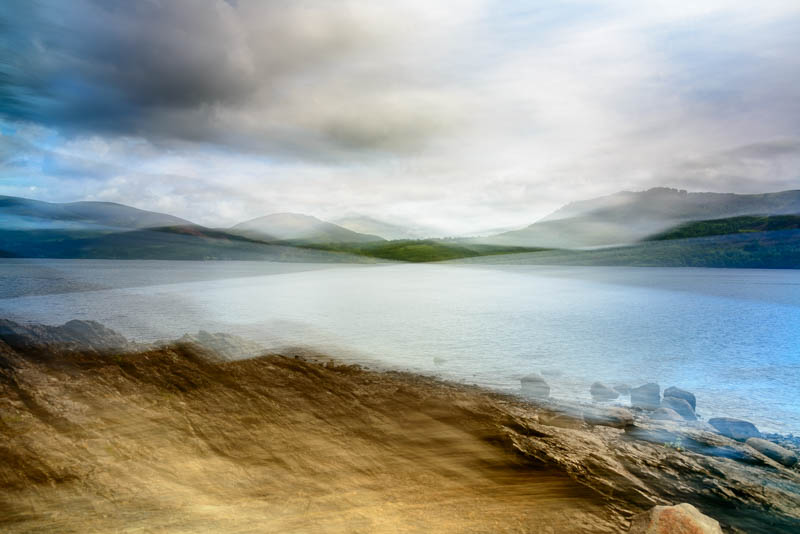 Blencathra and Derwent Water 5111 Greetings Card
