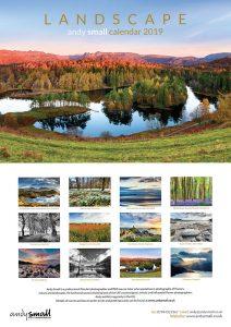 Landscape A3 Calendar Andy Small