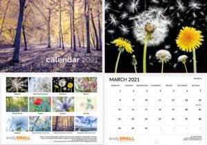 Andy Small A3 Calendar 2021