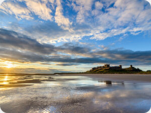 Bamburgh Castle Worktop saver