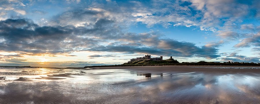 Bamburgh Castle Landscape Photography Andy Small